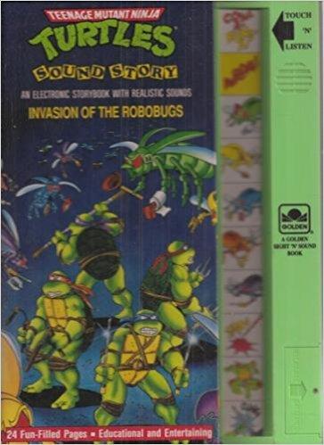 ninja turtle sound book - 4