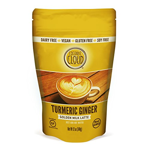 Coconut Cloud Turmeric Ginger golden milk: coconut milk beverage, VEGAN, non-dairy, gluten free, soy free, NOW IN A LARGER 12 oz size ()