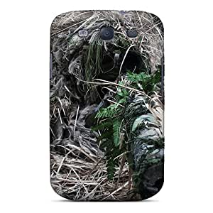 Series Skin Case Cover For Galaxy S3(ghillied Sniper)