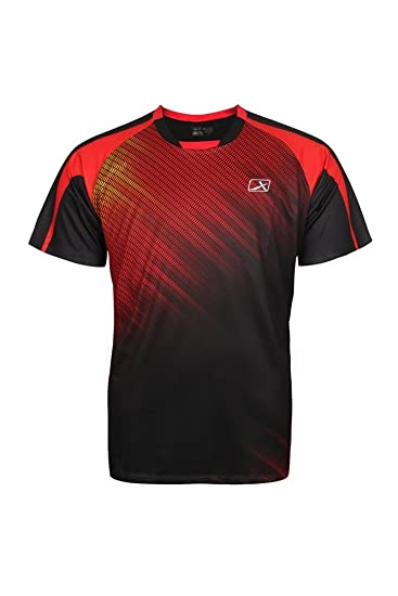 Buy Vector X VRS-006 Sublimation T-Shirt (Red-Black) Online at Low ...