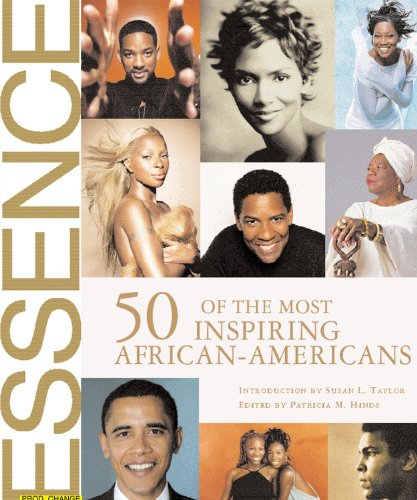 Books : Essence: 50 of the Most Inspiring African-Americans