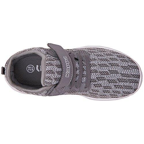 8e57559661a3d7 ... Kappa Unisex-Kinder Gizeh Kids Sneaker Grau (1614 Grey l´grey) ...