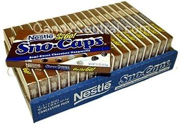 Nestle Sno Caps Movie Theater Box 3.1 oz (Pack of 6)