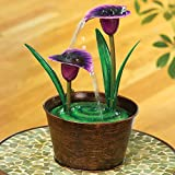 Best Bits and Pieces Bits and Pieces Indoor Fountains - Bits and Pieces Indoor Purple Calla Lily Fountain Review