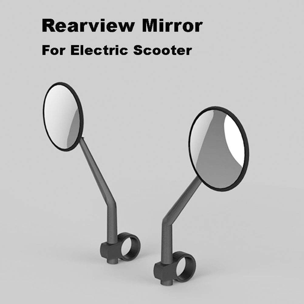 Apto para Xiaomi Mijia M365 Estructura giratoria Espejo retrovisor de Repuesto Duradero CVERY Espejo retrovisor para Scooter el/éctrico