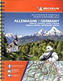 Michelin Germany, Benelux, Austria, Switzerland, Czechia Tourist & Motoring Atlas (bi-lingual): Road Atlas