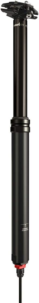 Black C1 Telescopic RockShox Unisexs Seatpost Reverb Stealth 125mm Travel Plunger Remote Right//Above, Left//Below Includes Bleed Kit /& Matchmaker X Mount 31.6 100mm Travel2000mm