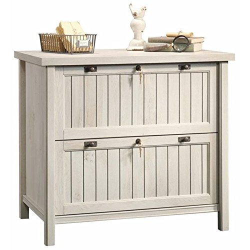 Pemberly Row 2 Drawer Wood Lateral Letter/Legal File Cabinet in Chalked Chestnut