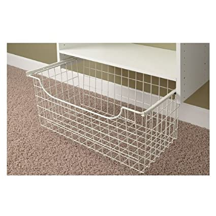 Easy Track 1312 Closet Wire Basket, 12 Inch