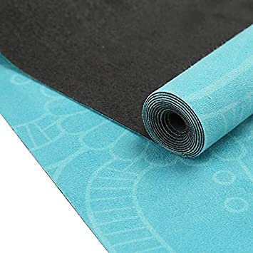 Haibo del Ejercicio del Entrenamiento Yoga Mat Mat Toalla ...