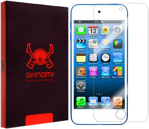 Skinomi Screen Protector Compatible with Apple iPod Touch 5 (5G, 5th Gen) Clear TechSkin TPU Anti-Bubble HD Film (Screen Lcd Ipod Touch 5g)