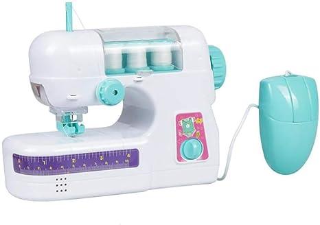 ZUEN Mini Máquina De Coser De Mano, Protección para Los Dedos Y ...
