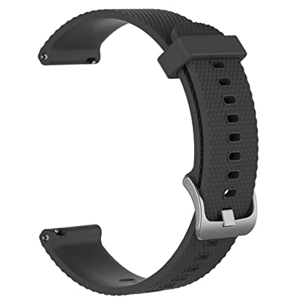 200 mm para pulseras Bands para Xiaomi amazfit Bip Youth Watch Soft Sili cagel Sport Reloj