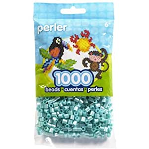 Perler Pearl Beads 1,000/Pkg-Light Blue by Perler