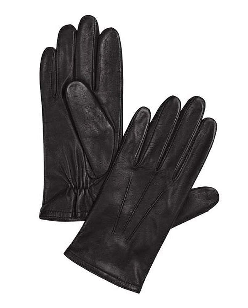 Damen Lederhandschuhe 7 7,5 8 Handschuhe Leder Textilfutter Nappaleder TOP NEU