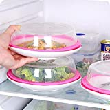 Vinmax Plate Topper Universal Leftover Lid Microwave Cover Airtight Plate Topper