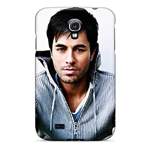 Hard Plastic Galaxy S4 Cases Back Covers,hotcases At Perfect Enrique Miguel Iglesias Customized
