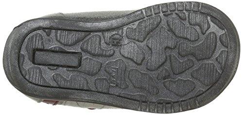 GBB Nayana - Zapatos de primeros pasos Bebé-Niños Gris - Gris (11 Vtv Gris/Imprimé Dpf/Kezia)