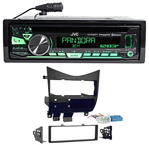 (JVC Stereo CD Player/Receiver w/Bluetooth+USB+Pandora for 2003-2007 Honda Accord)