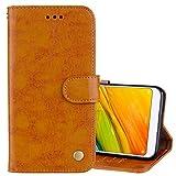 Mobile Phone Leather Cases for Xiaomi Redmi 5 Oil Wax Texture Horizontal Flip