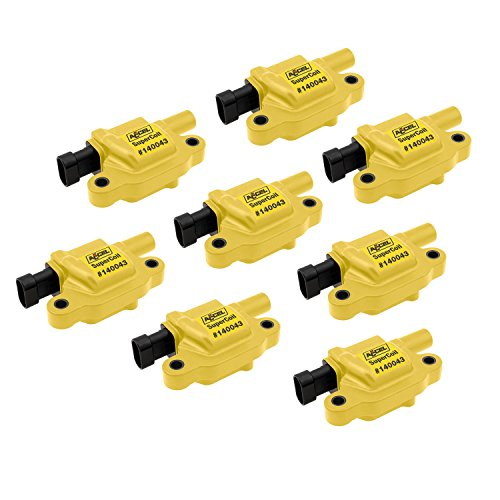 ACCEL 140043-8 Ignition SuperCoil Set (Pack of - Wire Accel Ignition