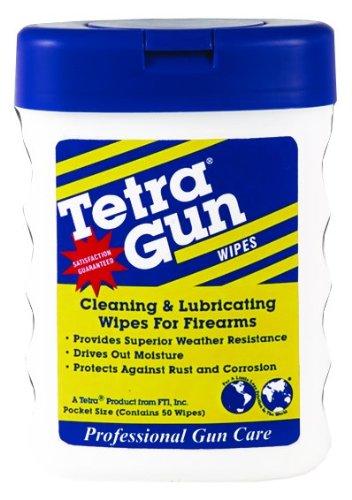 Tetra Men's Gun Lubricating Wipes (Pack of 2)