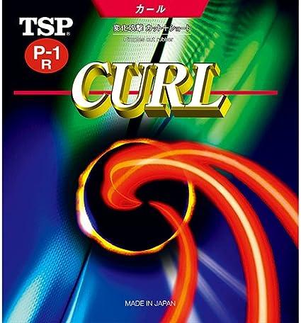 TSP Curl P-1R Rev/êtement pour tennis de table