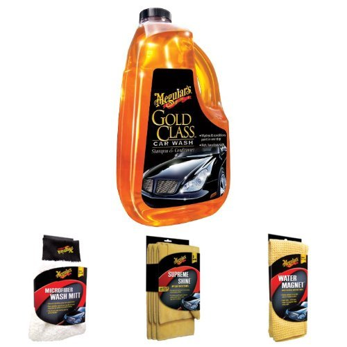 Meguiar S Gold Class Wash With Mitt Microfiber Cloths And Magnet Towel Bundlecompra En D 243 Lares