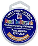Toner Plastics 0.7mm clear Bead N Stretch