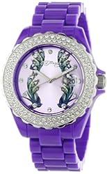 Ed Hardy Women's RX-PU Roxxy Purple Watch