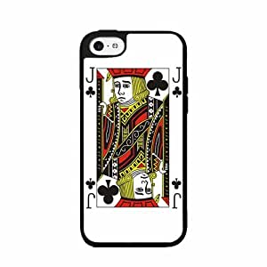 Jack of Clubs- Plastic Phone Case Back Cover iPhone 5 5s by lolosakes