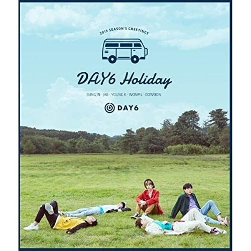 - JYP Entertainment DAY6-2019 Season's Greetings Calendar+DVD+Diary+Sticker+Photocards+Polaroids+Pin Button+Extra Photocards Set