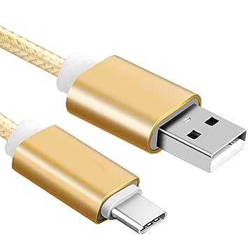 merfinova nailon trenzado Cable USB tipo C cargador rápido USB C 3.1 Tipo C 3.0 de sincronización de datos carga para Huawei Xiaomi 5 Redmi 4 USB-C ...