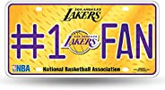 NBA Number One Fan License Plate