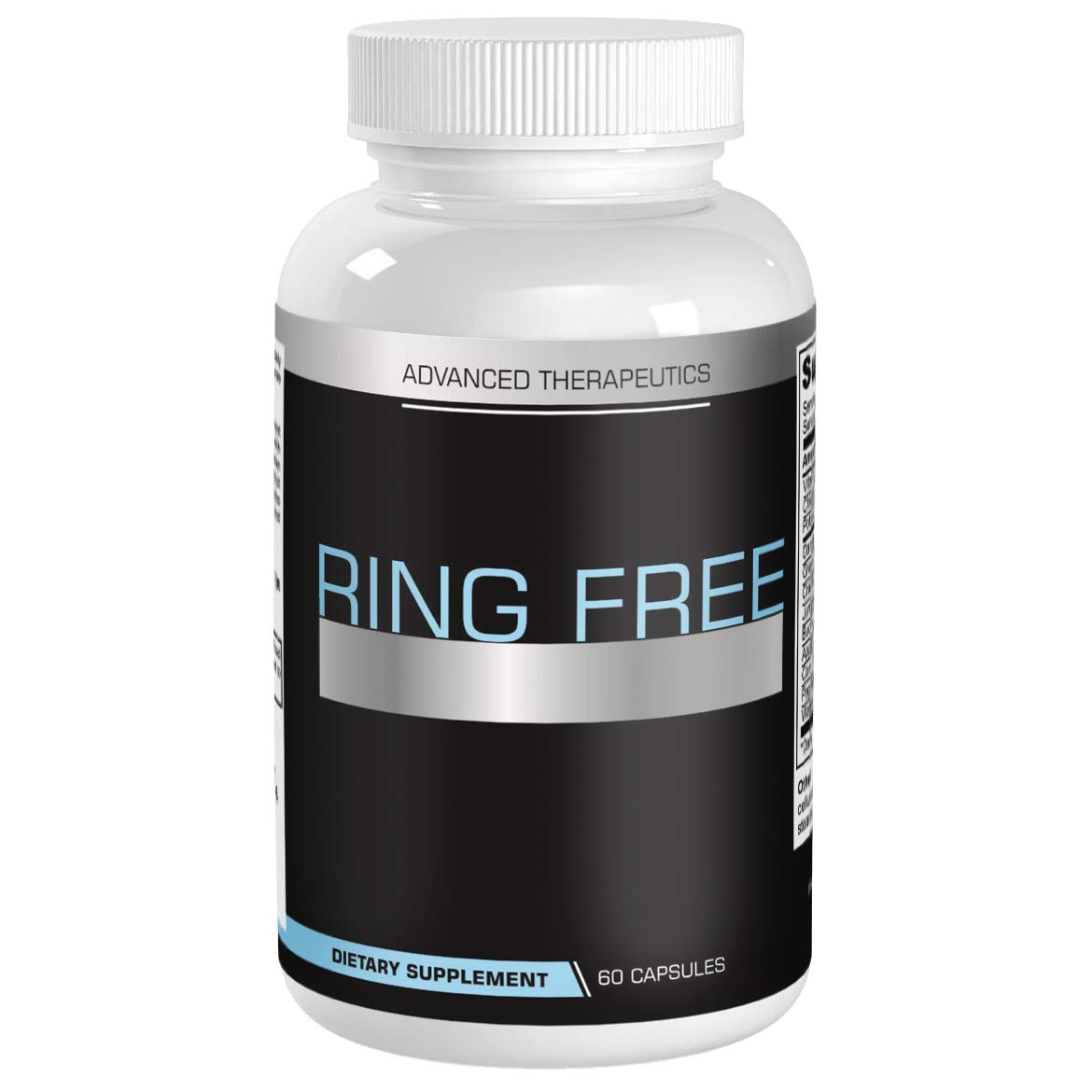 Ring Free Tinnitus Relief Supplement. End Tinnitus Naturally and Ear Ringing. 600 Capsules of The Most Powerful Tinnitus Supplements on The Market. 60 Capsules per Anti Tinnitus Bottle. Stop Tinnitus