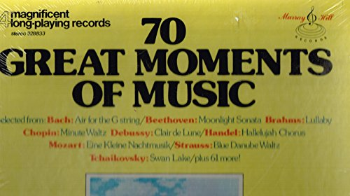 Records Playing (70 Great Moments of Music, 4 Long Playing Records)