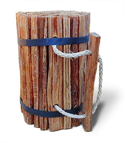 Better Wood Products (9904) Fatwood Firestarter Round Bundle, 4-Pounds