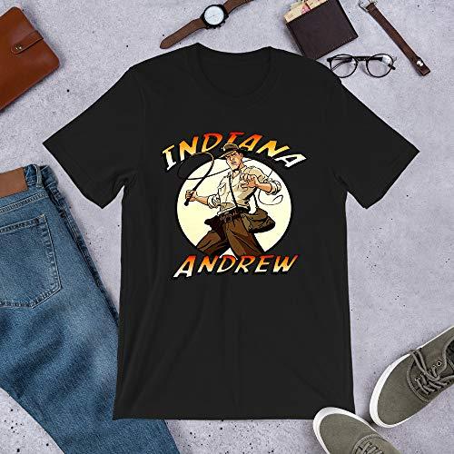 Indiana Jones Custom Marion Ravenwood Rene Belloq Sallah Graphic tee-Shirt Gift for Men Women Girls Unisex T-Shirt Sweatshirt (Black-XL)