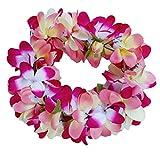 Women Floral Headband Hawaiian Plumeria Flower Haku elastic Leis