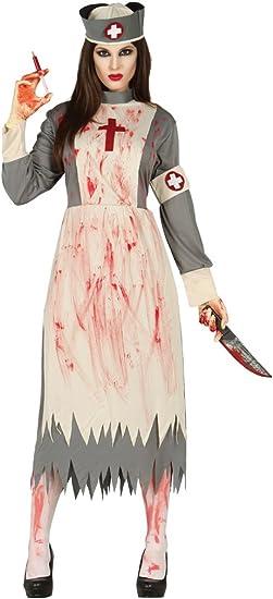 Disfraz de enfermera zombie adulta: Amazon.es: Juguetes y juegos