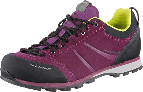 Mammut Wall Guide Low Women (Backpacking/Hiking Footwear (Low)) - amarante-black