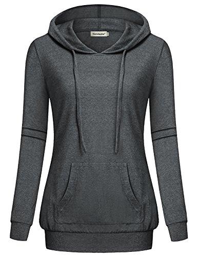 Embroidered Big Cotton Hoody Sweatshirt - 1