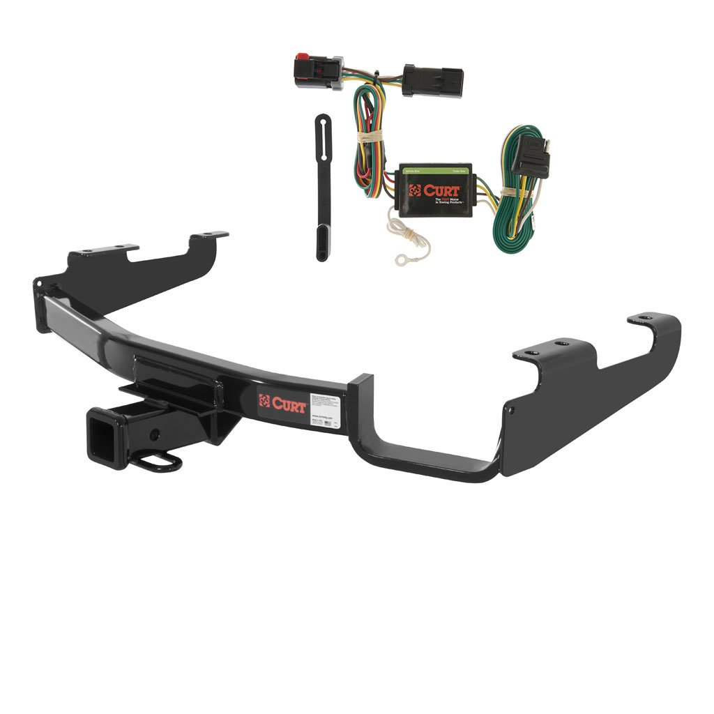 CURT Class 3 Trailer Hitch Bundle with Wiring for Chrysler Town & Country, Dodge Caravan - 13362 & 55376 Curt Manufacturing