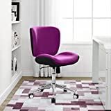 Best Serta Computer Desks - Serta Style Haylie Office Chair, Fuchsia/Charcoal Review