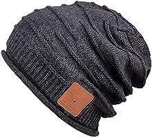 Mydeal Winter Unisex Bluetooth Beanie Hat Warm Skully Cap w/Wireless Headphone Headset Earphone Stereo Speaker Mic Hands...