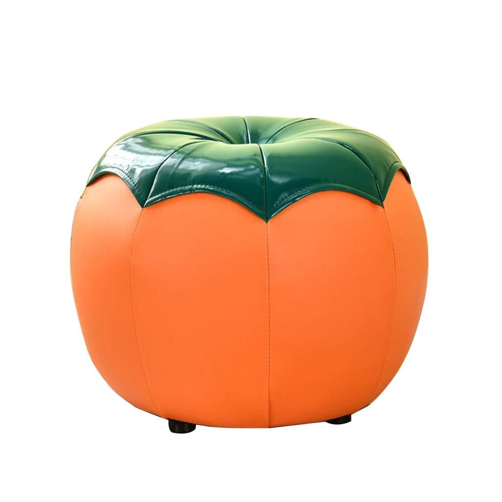 福袋 GWM スツール、スモールシート tomato)、ファッションクリエイティブフルーツ変更靴ベンチ子供漫画レザースツールソファスツール (色 (色 : Orange B07PB4BR87 tomato) Orange tomato B07PB4BR87, シラオイグン:f04f9b20 --- staging.aidandore.com