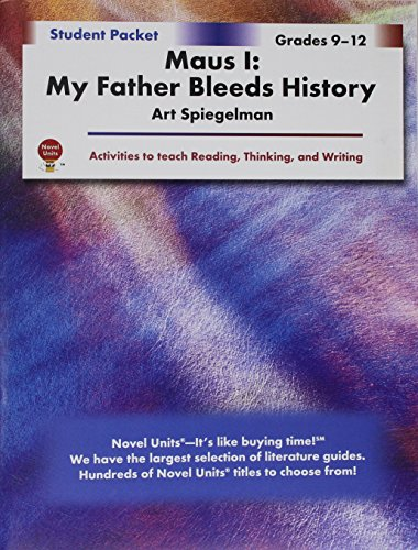 Maus 1: My Father Bleeds History - Student Packet by Novel Units, Inc.