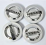 wheel center cap 60 mm - Tripoint® 4 Pcs 60mm Wheel Center Caps Hubcaps For Nissan Aeolus Primera Altima MICRA NOTE QASHQAI