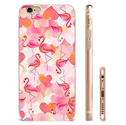 IPHONE 5C Hülle Flamingos Katze Giraffe Weich Silikon TPU Schutzhülle Ultradünnen Case für iPhone 5C Schutz Hülle