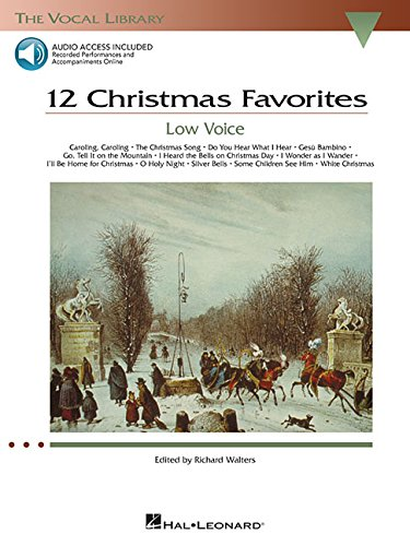 - 12 Christmas Favorites - Low Voice (The Vocal Library Series)